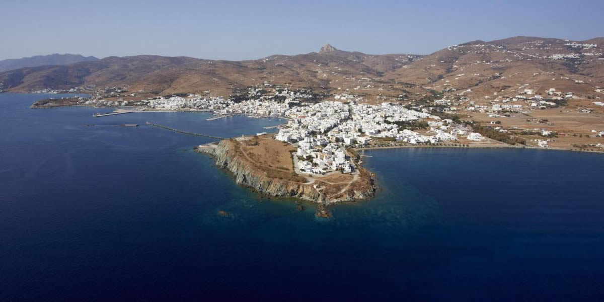 Tinos harbour, Cyclades, Greece