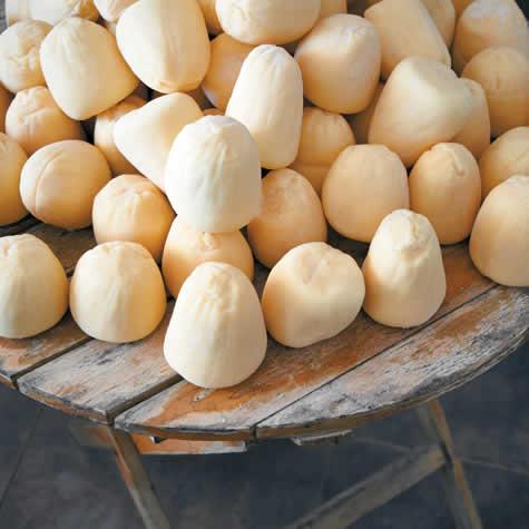 Kariki cheese, Aggela Rouggere Creamery Tsiknias Mt.,Tenos island, Cyclades, Greece