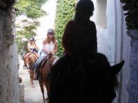 Tinos horse riding | Équitation à l'île de Tinos
